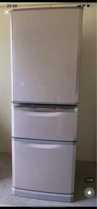 個人中古美品 MITSUBISHI 三菱電機 ノンフロン冷凍冷蔵庫 3ドア冷蔵庫 MR-C34W-P 2013年製 家電 キッチン