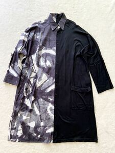 BLACK Scandal Yohji Yamamoto size2 ロングシャツ ブラックスキャンダル ヨウジヤマモト 美品 (P)