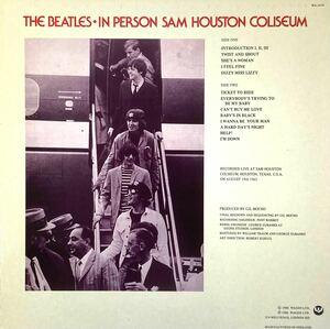 THE BEATLES・IN PERSON SAM HOUSTON COLISEUM