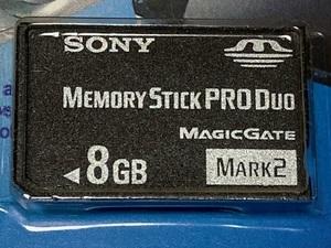 送料無料 ■ 新品・未使用 SONY/ ソニー ■ Memory Stick Pro Duo Magic-Gate MARK2