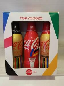 コカ・コーラ スリムボトル 東京2020オリンピック限定 聖火、ゴールドボトルセット