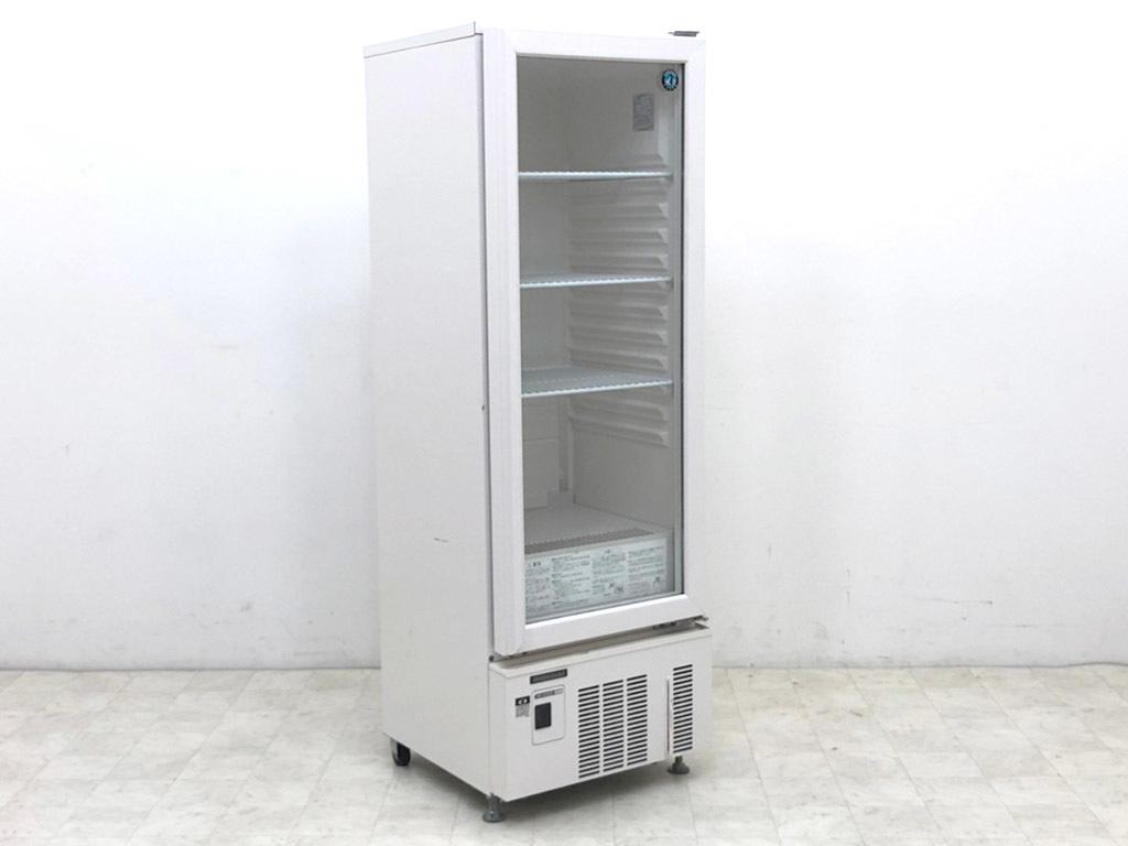 D6334【23区内・横浜市内送料無料】2018年製 ホシザキ 小型冷蔵ショーケース/ロングスイング扉タイプ USB-50BTL1/135L/24万【税込】