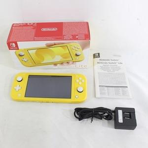 【訳あり】Nintendo Switch Lite(ニンテンドースイッチライト) イエロー(北米版)(HDH-S-YAZAA-EUR) 75220237