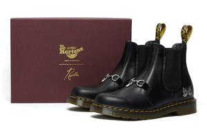 定価41800円 ■ NEEDLES Dr.Martens 2976 SNAFFLE チェルシーブーツ 革靴 サイドゴア ビット ニードルズ ドクターマーチン 26908001 ■ 9
