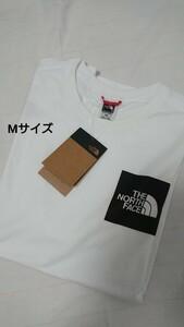 THE NORTH FACE ロゴTシャツ 白 Mサイズ
