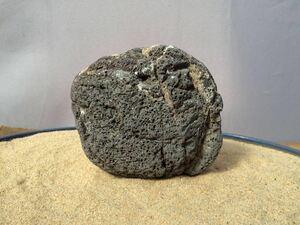 水石 自然石 天然石 ウブ石 盆石 鑑賞石 探石 庭石 盆栽 レイアウト アクアリウム 水槽 s347