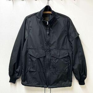 USA製 Spiewak MARK MCNAIRY G-8 スピワック マークマクナイリー ゴンズジャケット ミリタリー ナイロンジャケット ビンテージ 黒
