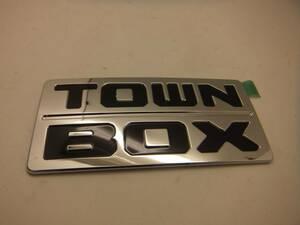 三菱 タウンボックス(DS17W) リアカーネーム