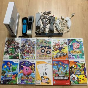wii本体、ソフト10本セット