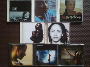 シャーデー Diamond Life/Promise/Stronger Than Pride/Love Deluxe/The Best of Sade/Lovers Rock/Lovers Live 正規 初版 廃盤 希少 レア