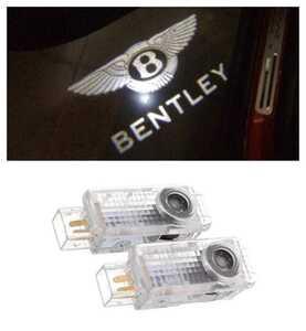 Bentley ベントレー HD ロゴ NEWタイプ カーテシランプ LED プロジェクター コンチネンタル GT フライング スパー ドア 特価