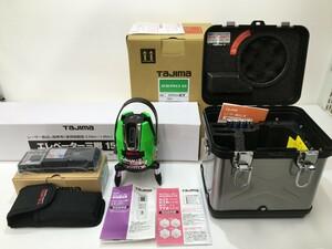 【未使用品】タジマ グリーンレーザー墨出し器 ZEROG-KY三脚セット #2310 ITB7GAQMHE4K