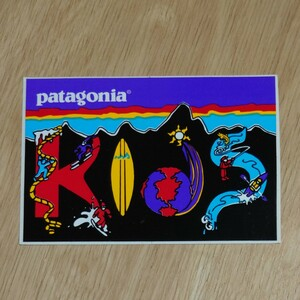 ◆ patagonia パタゴニア 廃盤品 KID'S ステッカー ◆ patagonia KIDS