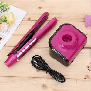 APC01 新品未使用!送料無料!持運び便利なコードレスヘアアイロン USB充電