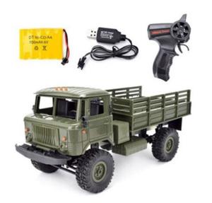 x221 4WD rcカー 軍用トラック オフロード 4 ホイール バギードライブ クライミング ledライト (カラー選択2色)