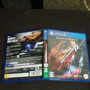 PS4 NEED FOR SPEED HOT PURSUIT REMASTERED 新品同様品 ニードフォースピードホットパースト