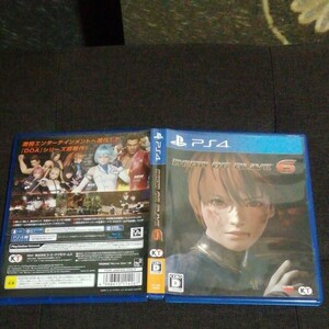 PS4 DEAD OR ALIVE 6 デッドオアアライブ 中古美品