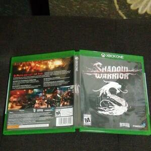 XBOX ONE Shadow Warrior 海外版 中古美品 日本語版未発売 国内版本体でプレイ可能