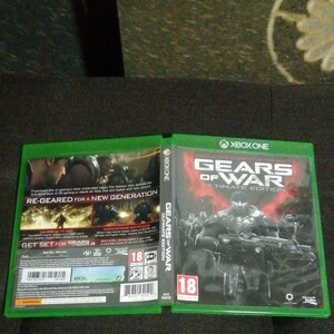 XBOX ONE GEARS of WAR Ultimate Edition 海外版 日本版本体で動作可能 中古美品