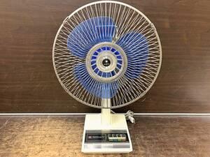 ◯SANYO サンヨー EF-30UD 扇風機 卓上扇 ファン ELECTRIC FAN 昭和レトロ 当時物 動作確認済み 管1-2108 BARR