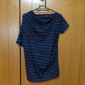 Vivienne Westwood ヴィヴィアンウエストウッド アングロマニア変形カットソー Tシャツ