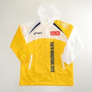 A4 東京マラソン2013 マクドナルド スタッフブルゾン コート