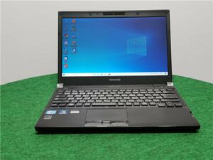 カメラ内蔵/中古/13型/ノートPC/Windows10/SSD128GB/4GB/2世代i5/TOSHIBA R31/37EB  office搭載