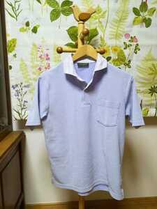 JOSEPH ABBOUD / ジョセフ アブード水色ポロシャツSサイズ