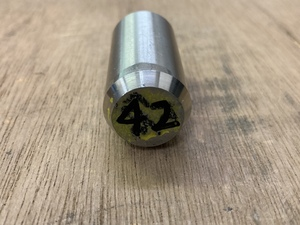 Φ21×42mm □ SUS303 ステンレス 丸棒 金属材料 端材 残材 DIY ハンドメイド