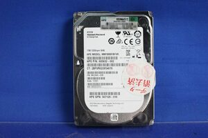 HDD 1TB HP 2.5 -inch 7200rpm SAS MM1000FBFVR 605832-002/507129-016 letter pack post service plus rack server PC O043008