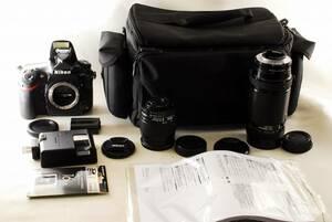 〓極美級〓 ニコン Nikon D810 超望遠 Wレンズセット ★ ダブルレンズセット ♪