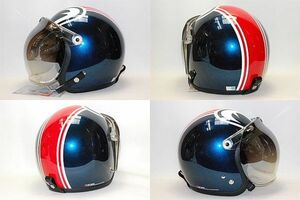 シールド付きSP・TADAO 目玉デザインヘルメット SP-1 フリー(L)57~60㎝