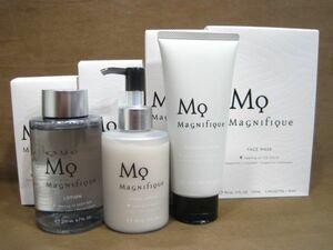 M6-173◆未使用品 コーセー マニフィーク 洗顔料 / 化粧水 / 乳液 / 美容液マスク まとめて計4点 男性用 メンズ スキンケアケア MAGNIFIQUE