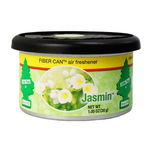 【2個までメール便OK】リトルツリー ファイバー カン ジャスミン Little Trees 芳香剤 車 部屋 缶 エアフレッシュナー USA