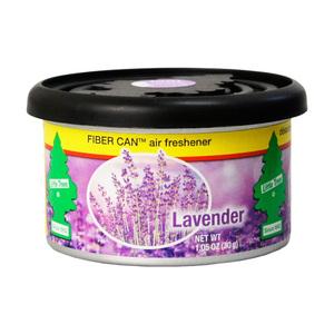 【2個までメール便OK】リトルツリー ファイバー カン ラベンダー Little Trees 芳香剤 車 部屋 缶 エアフレッシュナー USA