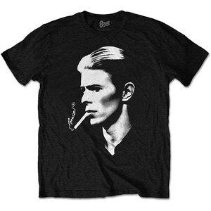 ★デヴィッド ボウイ Tシャツ David Bowie SMOKE - M 正規品 ロックTシャツ ジギー スターダスト