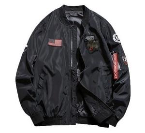 限定 ★サイズと色選択可S~5XL新品メンズミリタリー ジャパンー アウターMA-1バイク フライトジャケット◆ブラック