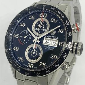 タグホイヤー Tag Heuer カレラ キャリバー16 CV2A10 クロノグラフ デイデイト メンズ 自動巻き 保証書 腕時計 CD28995145