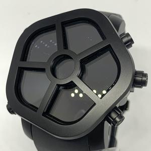 ◎1円~ ジェイコブ Jacob ゴースト 330.100.1 メンズ クオーツ GPS オールブラック 腕時計 CD23432115