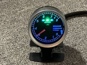 rare blue Pivot Pro gauge tachometer 60 pie tachometer PT6-L 3 ream sif playing cards 9000rpm meter stay operation has been confirmed