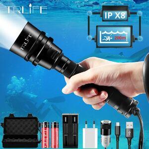 5LED ダイビングライト バッテリーセット 国内発送 値下げ不可