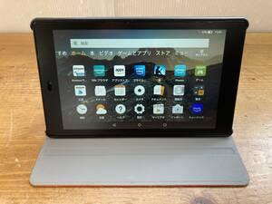 Amazon アマゾン Fire HD 8 第7世代 タブレット 液晶保護カバー 本体カバー付