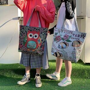 トートバッグ レディース ショルダーバッグ肩掛けバッグ韓国風 かわいい大容量 鞄 20代30代40代50代