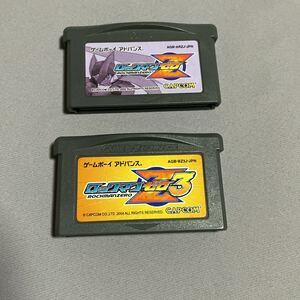 ロックマンZ Z3 セット GBA ゲームボーイアドバンス ソフト 動作確認済み カプコン アクションアドベンチャー