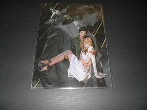 11週目 入場者特典 pablo uchida 描き下ろし イラストクリアファイル 閃光のハサウェイ 機動戦士ガンダム クリアファイル