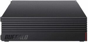 バッファロー 外付けハードディスク 4TB テレビ録画/PC/PS4/4K対応 バッファロー製 静音&コンパクト