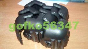 SB024:ギター アンプ コーナー 角 プロテクター ステージ スピーカー キャビネット 2穴 ブラック 8pc
