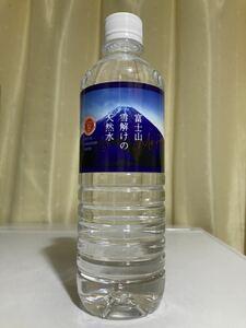 蒼天 富士山雪解けの天然水★500ml★ナチュラルミネラルウォーター★ 水(鉱水)★バナジウム52μg/L 硬度72mg pH 7.7