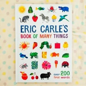 【新品】エリックカール 英語絵本 200 ファーストワーズ