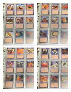 初代 初版あり フルコンプセット モンコレ モンスターコレクション TCG カード